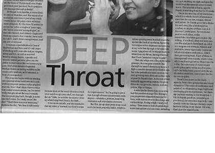 Indian Express April 2005