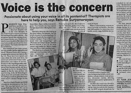 Indian Express July 2001