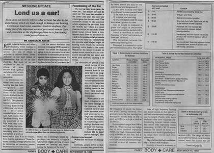 Body & Beauty Care November 1993